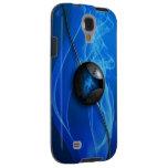 Galaxia azul S4, caso de Samsung de la energía del