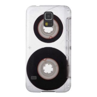 Galaxia: Casete audio de la cinta magnética Funda Para Galaxy S5