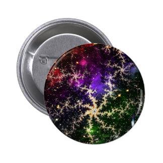 Galaxia colorida del fractal pin