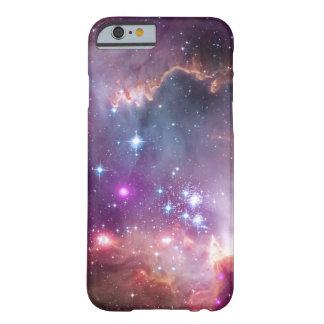 Galaxia colorida/nebulosa del espacio exterior funda barely there iPhone 6