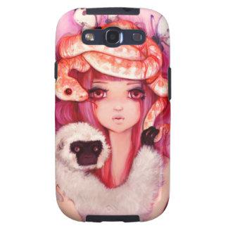 Galaxia constante SIII de Samsung de los corazones Samsung Galaxy S3 Coberturas