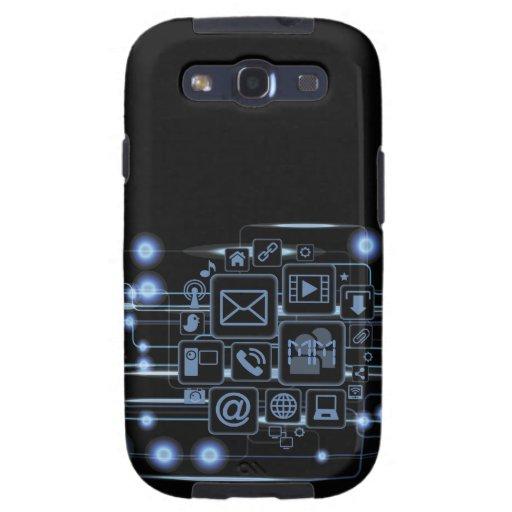 Galaxia de alta tecnología S3 de Samsung de las in Galaxy S3 Fundas