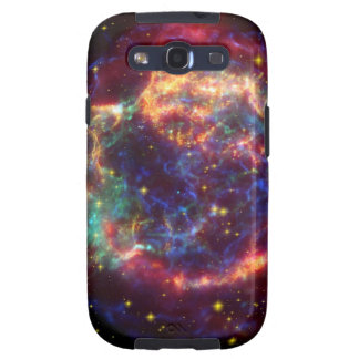 Galaxia de Cassiopeaia Galaxy S3 Fundas