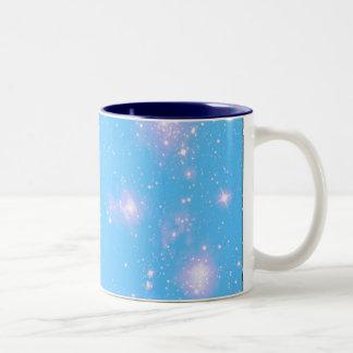 Galaxia de Dreamscape Taza De Dos Tonos