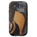 Galaxia de encargo S3 del Grunge gris de la guitar Samsung Galaxy S3 Coberturas