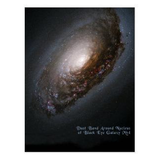 Galaxia de la bella durmiente de la galaxia del oj tarjetas postales