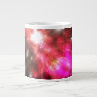 Galaxia de la luz tazas jumbo