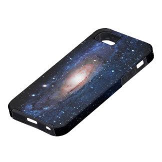 Galaxia de la vía láctea iPhone 5 fundas