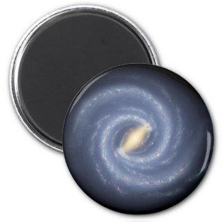 Galaxia de la vía láctea iman para frigorífico