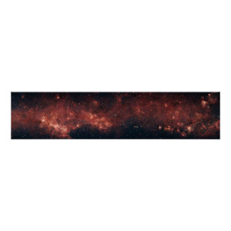 Galaxia de la vía láctea póster