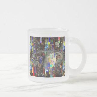 Galaxia de los planetas 2859b de los fuegos artifi taza