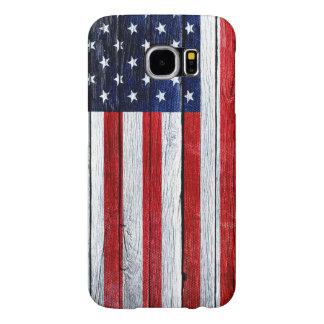 Galaxia de madera S6, Barely There de Samsung de Fundas Samsung Galaxy S6