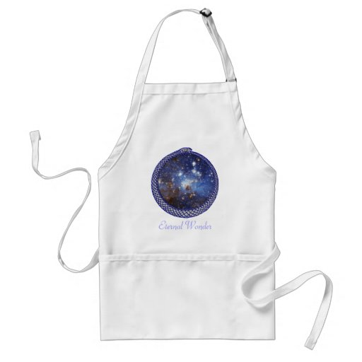 Galaxia de Ouroboros - delantal #2