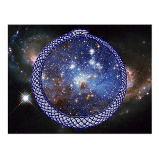 Galaxia de Ouroboros - postal