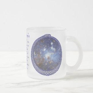 Galaxia de Ouroboros - taza #6