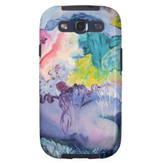 Galaxia de Samsung del color del surrealismo Samsung Galaxy S3 Cobertura