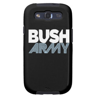 Galaxia de Samsung del ejército de Bush Galaxy S3 Fundas