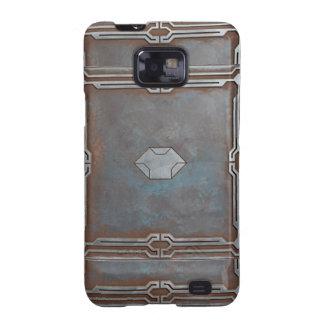 Galaxia de Steampunk/vibrante/Stargate Funda Para Samsung Galaxy SII