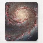 Galaxia de Whirlpool Alfombrilla De Ratón