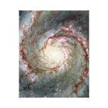 Galaxia de Whirlpool Impresiones En Lienzo Estiradas