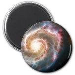 Galaxia de Whirlpool (M51) y compañero Imán De Frigorifico