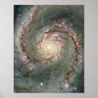 Galaxia de Whirlpool Póster