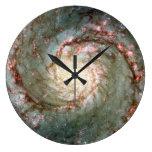 Galaxia de Whirlpool Reloj De Pared