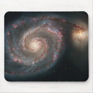 Galaxia de Whirlpool Alfombrillas De Ratones