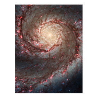 Galaxia de Whirlpool Tarjeta Postal
