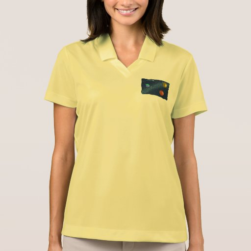 Galaxia de Wonderous Camiseta Polo