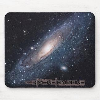Galaxia del Andromeda Alfombrillas De Raton