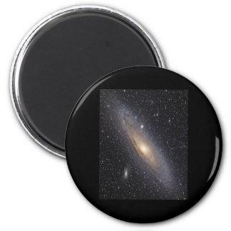 Galaxia del Andromeda Imán Redondo 5 Cm