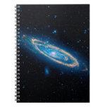 Galaxia del Andromeda Libros De Apuntes Con Espiral