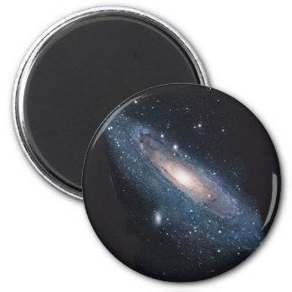 Galaxia del Andromeda M31 Imán Redondo 5 Cm
