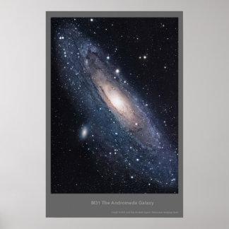 Galaxia del Andromeda M31 Impresiones