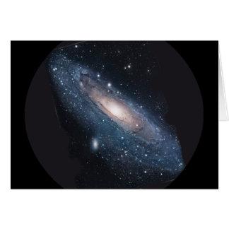 Galaxia del Andromeda M31 Tarjetas