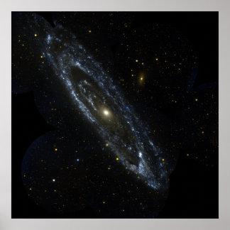 Galaxia del Andromeda Poster