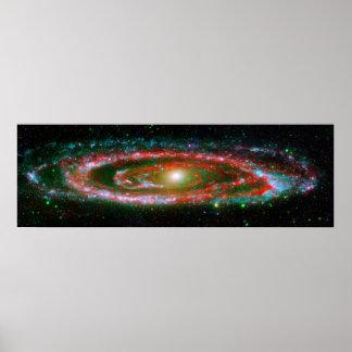Galaxia del Andromeda - poster/impresión del espac