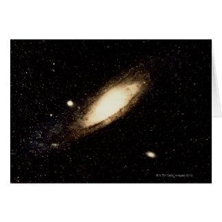 Galaxia del Andromeda Tarjeton