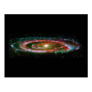 Galaxia del Andromeda Postal