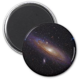 Galaxia del Andromeda tomada con el filtro de la a Imán Redondo 5 Cm