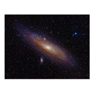 Galaxia del Andromeda tomada con el filtro de la Postal