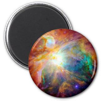 Galaxia del arco iris de la nebulosa de Orión Imán Redondo 5 Cm