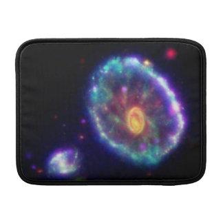 Galaxia del Cartwheel Funda Para Macbook Air