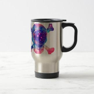 Galaxia del cráneo tazas de café
