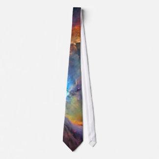 Galaxia del espacio de la nebulosa de Orión Corbata Personalizada