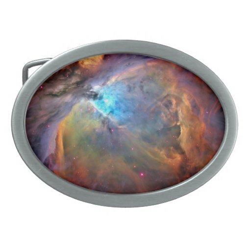 Galaxia del espacio de la nebulosa de Orión Hebilla De Cinturon Oval