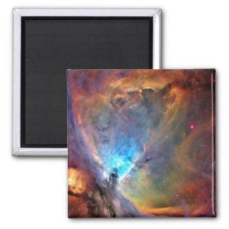 Galaxia del espacio de la nebulosa de Orión Imán Cuadrado