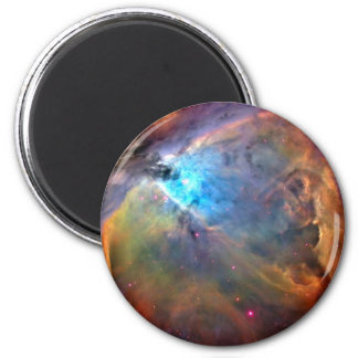 Galaxia del espacio de la nebulosa de Orión Imán Redondo 5 Cm