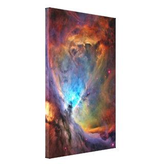 Galaxia del espacio de la nebulosa de Orión Impresión En Lienzo